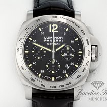 Panerai Luminor Daylight Stahl PAM 250 Chronograph Automatik