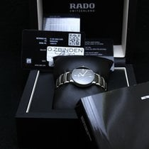 Rado Centrix automatic Diamonds Steel & Black Ceramic  01.561.094