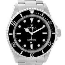 Rolex Submariner 40mm Non-date 2-liner Steel Mens Watch 14060