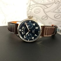 IWC Big Pilot Fehérarany 46mm Kék Arab