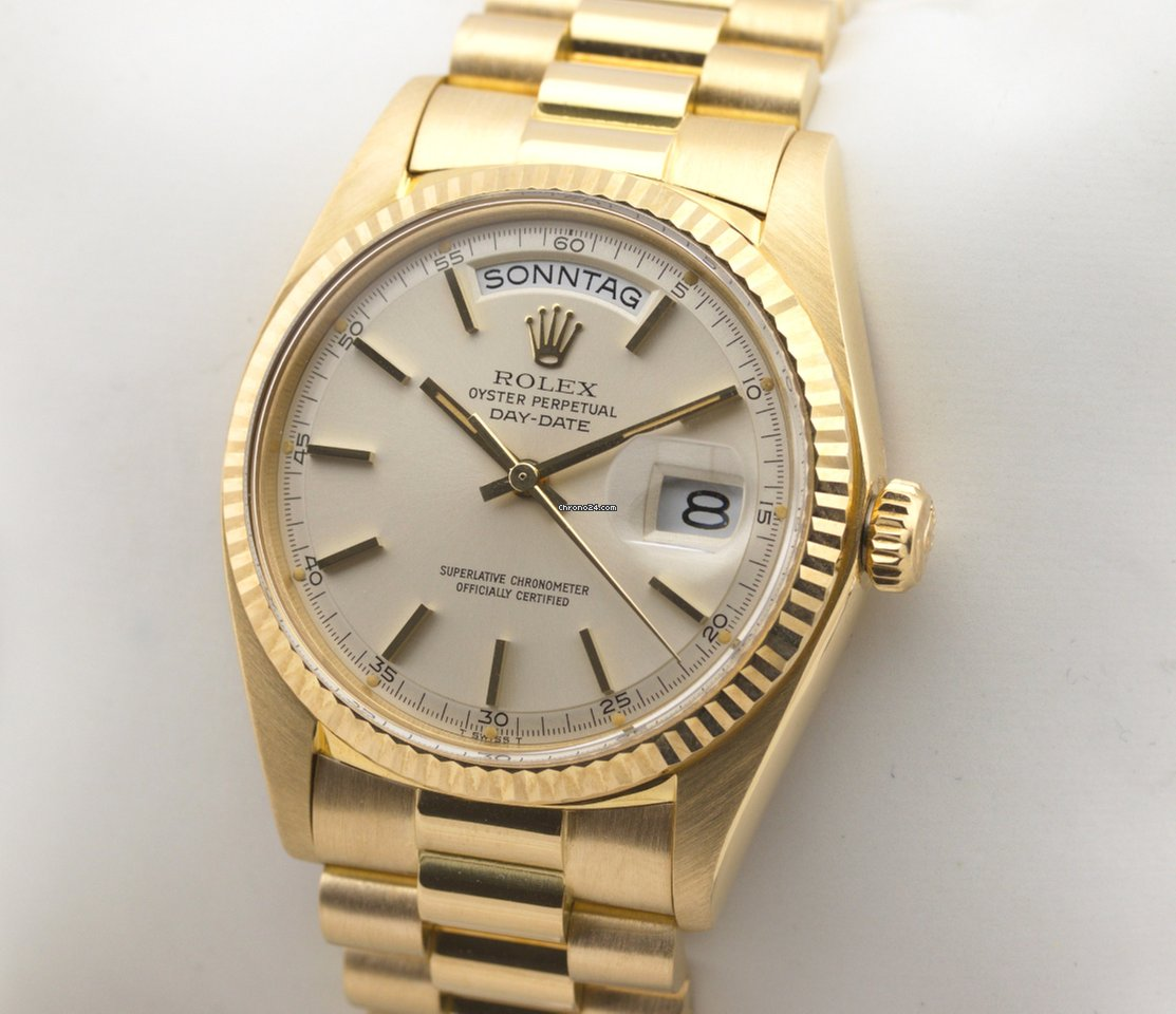 Rolex Day Date President Automatic 18K Gold Herrenuhr