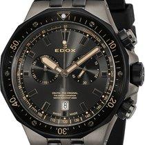 Edox Delfin 43mm Swiss Quartz Chronograph Watch
