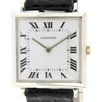 Audemars Piguet   Extra flat signed Cartier in 18kt white gold