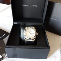 Hamilton Khaki Navy Sub tweedehands 42mm Staal