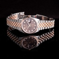 Rolex Datejust Steel 36mm Brown United States of America, California, San Mateo