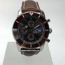 Breitling 46mm Automático nuevo Superocean Héritage II Chronographe Marrón