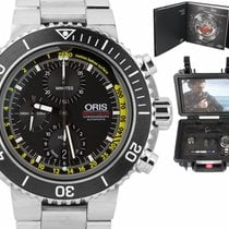 Oris Aquis Depth Gauge Steel 48mm Black United States of America, New York, Massapequa Park