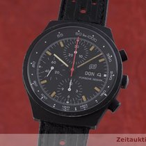 Porsche Design pre-owned Automatic 40.5mm Black Mineral Glass
