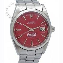 Rolex Oyster Precision Acciaio 34mm Rosso Senza numeri Italia, Brescia