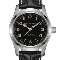 Hamilton Khaki Field Steel 42mm Black