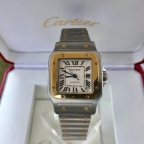 Cartier Santos Galbée Steel 32mm White Roman numerals United States of America, New York, Brooklyn