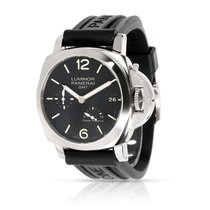Panerai Luminor 1950 3 Days GMT Power Reserve Automatic Steel 42mm Black Arabic numerals United States of America, New York, New York