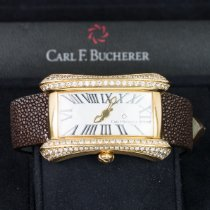 Carl F. Bucherer Alacria Yellow gold 31.3mm White Roman numerals