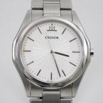 Seiko Credor Steel 36mm White
