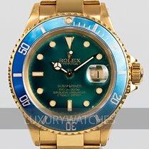 Rolex 16618 Or jaune 1969 Submariner Date 40mm occasion