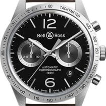 Bell & Ross BR V1 BR-126-GT-BROWN new