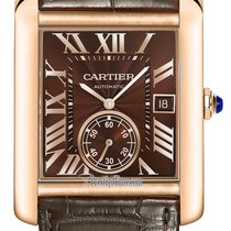 Cartier Rose gold Automatic 34.3mm new Tank MC