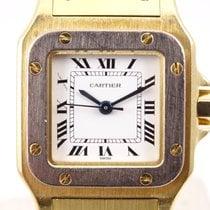 Cartier Gelbgold Automatik Weiß Römisch 35mm gebraucht Santos (submodel)