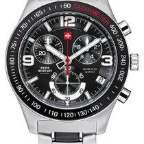 Swiss Military Chronograph 42,50mm Quartz new Black