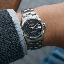 Rolex Oyster Perpetual Date Black Sigma Dial ref. 1500