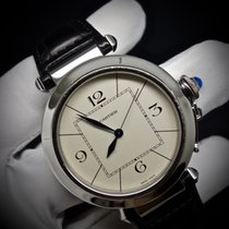 Cartier Pasha W3107255 Very good Steel 42mm Automatic