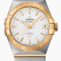 Omega Constellation Men Gold/Steel 38mm Silver United States of America, New York, New York City