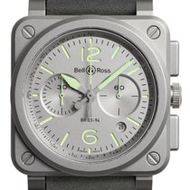 Bell & Ross BR 03-94 Chronographe Steel 42mm Grey United States of America, New York, Airmont