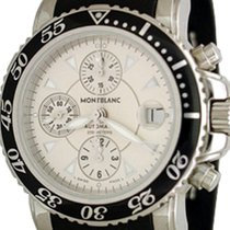 Montblanc Chronograph 41.5mm Automatic pre-owned Sport Silver