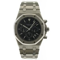 Audemars Piguet 25860ST Staal 2004 Royal Oak Chronograph 39mm tweedehands