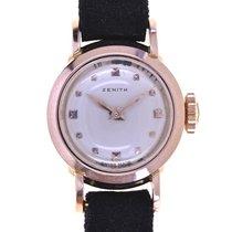 Zenith Oro rosado Plata Sin cifras 16.3mm nuevo
