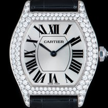 Cartier Tortue usados 28mm Oro blanco