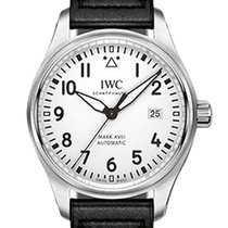 IWC Pilot Mark Steel 40mm White