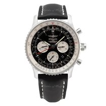 Breitling Navitimer Rattrapante Acero 45mm Negro