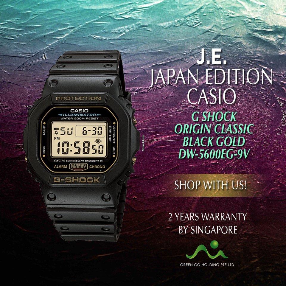 77c2a8cff4350b Do sprzedania Casio Japan Edition G Shock Gold Tone Collector Model  DW-5600EG-9 za cene 1 938 zł od Seller na Chrono24