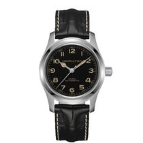 Hamilton Khaki Field Steel 42mm Black Arabic numerals United States of America, New York, NY