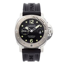 Panerai Luminor Submersible pre-owned 44mm Black Date Rubber