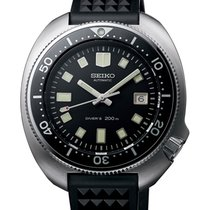 Seiko Prospex Steel 45mm Black