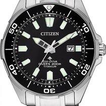 Citizen новые Кварцевые 44mm Титан Минеральное стекло