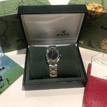 Rolex Oyster Perpetual 31 Steel 31mm Black No numerals