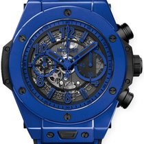 Hublot Ceramic Automatic Transparent Arabic numerals 45mm new Big Bang Unico
