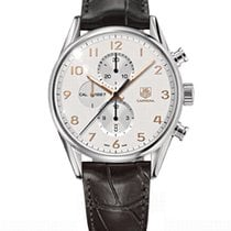 TAG Heuer Carrera Calibre 1887 Steel 43mm Silver Arabic numerals South Africa, Johannesburg