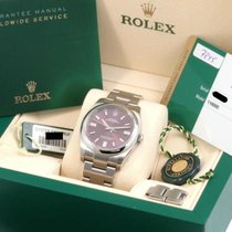 Rolex Oyster Perpetual 36 Steel 36mm Red Arabic numerals United States of America, California, Beverly Hills