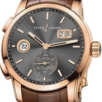Ulysse Nardin Rose gold 42mm Automatic 3346-126LE/BQ new