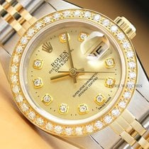 Rolex Lady-Datejust Steel 26mm Champagne