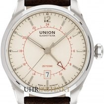 Union Glashütte Belisar GMT Steel 41mm Champagne