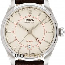 Union Glashütte Belisar GMT new 2020 Automatic Watch with original box and original papers D009.429.16.267.00