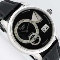 Glashütte Original 65-01-03-03-04 Platinum 2002 PanoReserve 39.4mm pre-owned