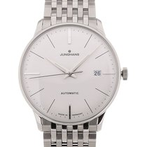 Junghans Meister 38 Date Silver Dial