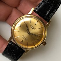 Longines Conquest 18k Solid Gold Automatic 34mm Vintage