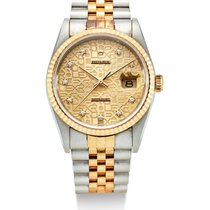 Rolex | A Stainless Steel And yellow Gold Automatic center...